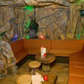 private venue tiki party seating