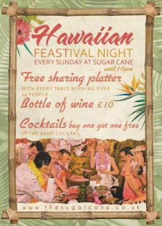 Food and drink sharing specials