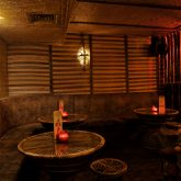 The thatched room group party venue