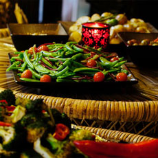 Party food photo